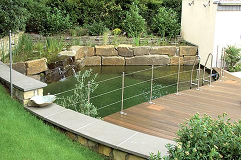 schwimmteich von gartenarchitektur und landschaftsarchitektur ... - Gartenarchitektur